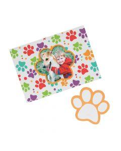 Paw Print Picture Frame Magnets