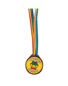 Pawsitively Awesome Award Medals