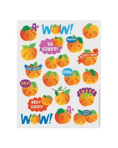 Peach-Scented Stickers