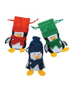 Penguin Drawstring Bags