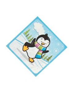 Penguin Party Luncheon Napkins