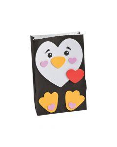 Penguin Valentine Card Holder Craft Kit