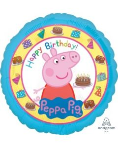 Peppa Pig Happy Birthday Foil Balloon