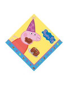 Peppa Pig Luncheon Napkins