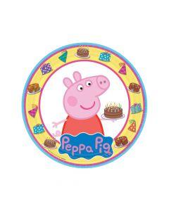 Peppa Pig Paper Dinner Plates