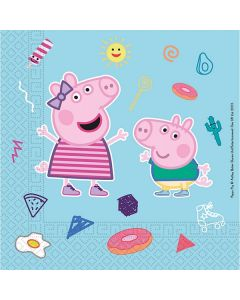 Peppa Pig Star Shine Eco Napkins