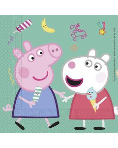 Peppa Pig Two Ply Paper Napkins