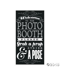 Photo Booth Instructions Wall Decoration