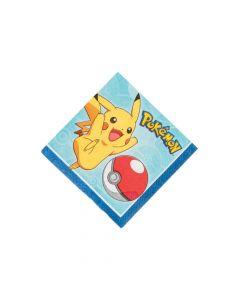 Pikachu and Friends Beverage Napkins