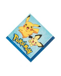 Pikachu and Friends Luncheon Napkins