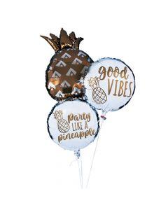 Pineapple Mylar Balloon Set