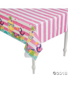 Pineapple 'n Friends Plastic Tablecloth