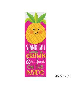 Pineapple Scented Bookmarks