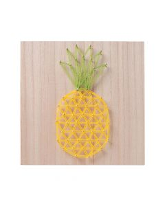 Pineapple String Art Craft