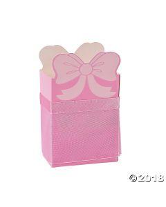 Pink Ballerina Favor Boxes