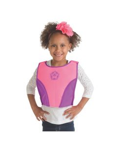 Pink and Purple Superhero Chest Plate