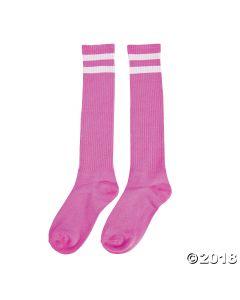 Pink Team Spirit Knee-high Socks