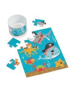 Pirate Animal Puzzles