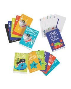 Pirate Animals Card Game Assortment
