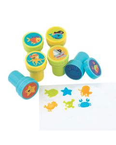 Pirate Animals Stampers