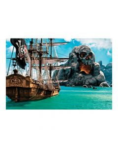 Pirate Backdrop Banner