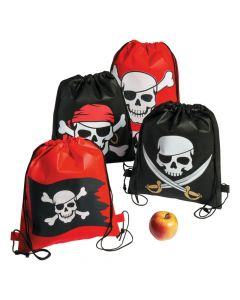 Pirate Drawstring Bags