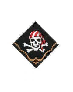 Pirate Paper Beverage Napkins