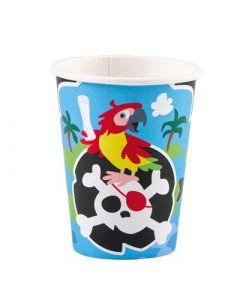 Pirate Paper Cups