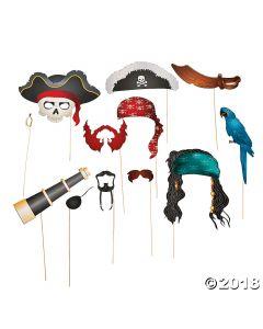 Pirate Photo Stick Props