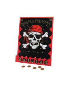 Pirate Treasure Disc Drop Game