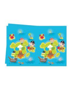 Pirate Treasure Hunt Plastic Tablecover
