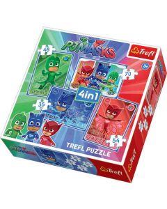 PJ Masks 4 in 1 Puzzle