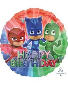 PJ Masks Happy Birthday Foil Balloon