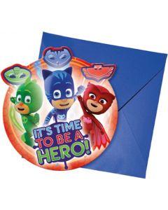 PJ Masks Invitations & Envelopes