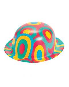 Plastic Swirl Derby Hats