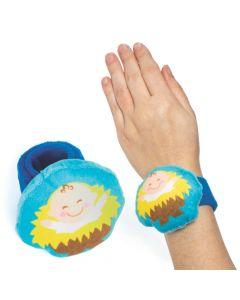 Plush Baby Jesus Slap Bracelets