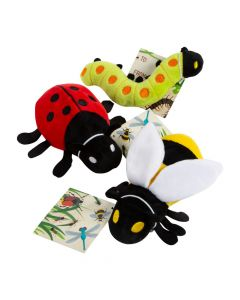 Plush Bugs with Card