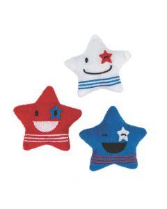 Plush Patriotic Stars