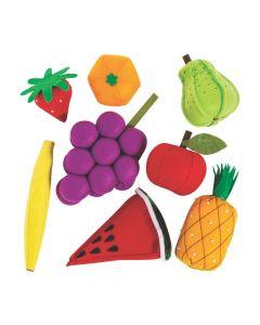 Plush Play Fruit