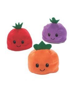 Plush Reversible Fruit