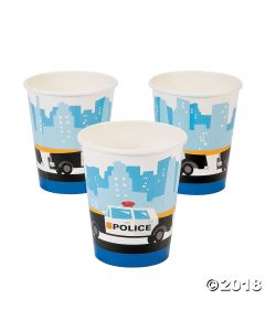 Police Paper Cups