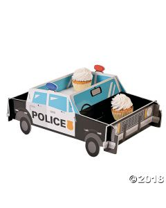 Police Party Cupcake Stand