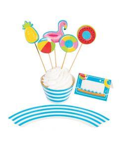 Pool Party Dessert Decorating Kit