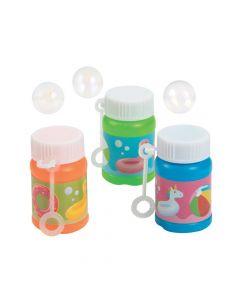 Pool Party Mini Bubble Bottles