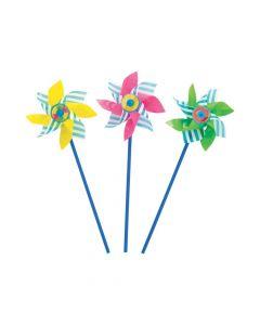 Pool Party Pinwheels - 12 Pc.