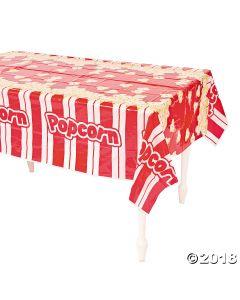 Popcorn Plastic Tablecloth