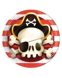 Powerful Pirates Paper Plates