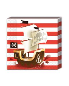 Powerful Pirates Two-ply Paper Napkin
