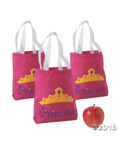 Princess Canvas Tote Bags