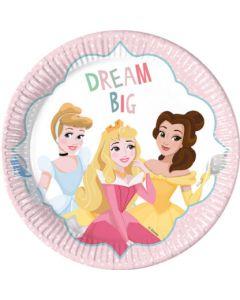 Princess Dare to Dream Paper Plates
